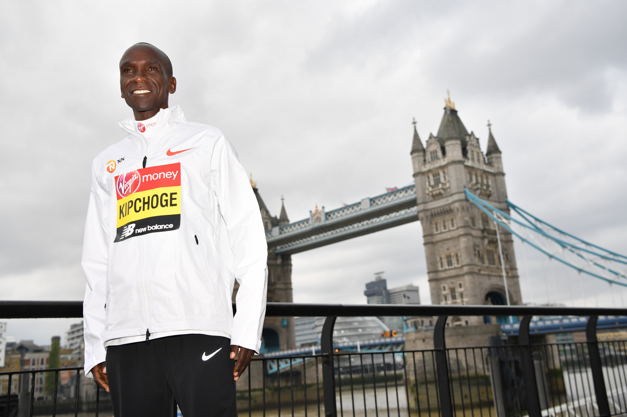 Kipchoge not feeling pressure as world record holder bids for fourth London Marathon title