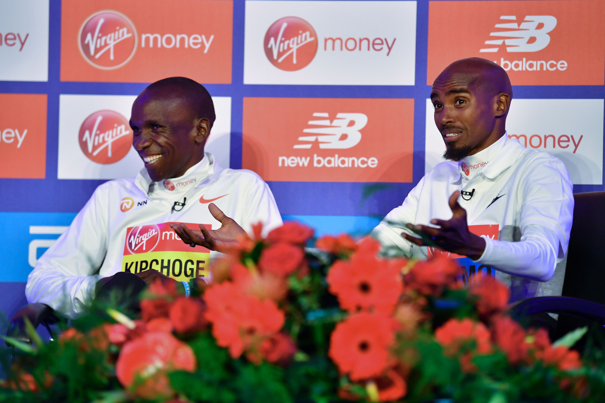 Mo Farah admits he faces a tough challenge against the world record holder ©Getty Images
