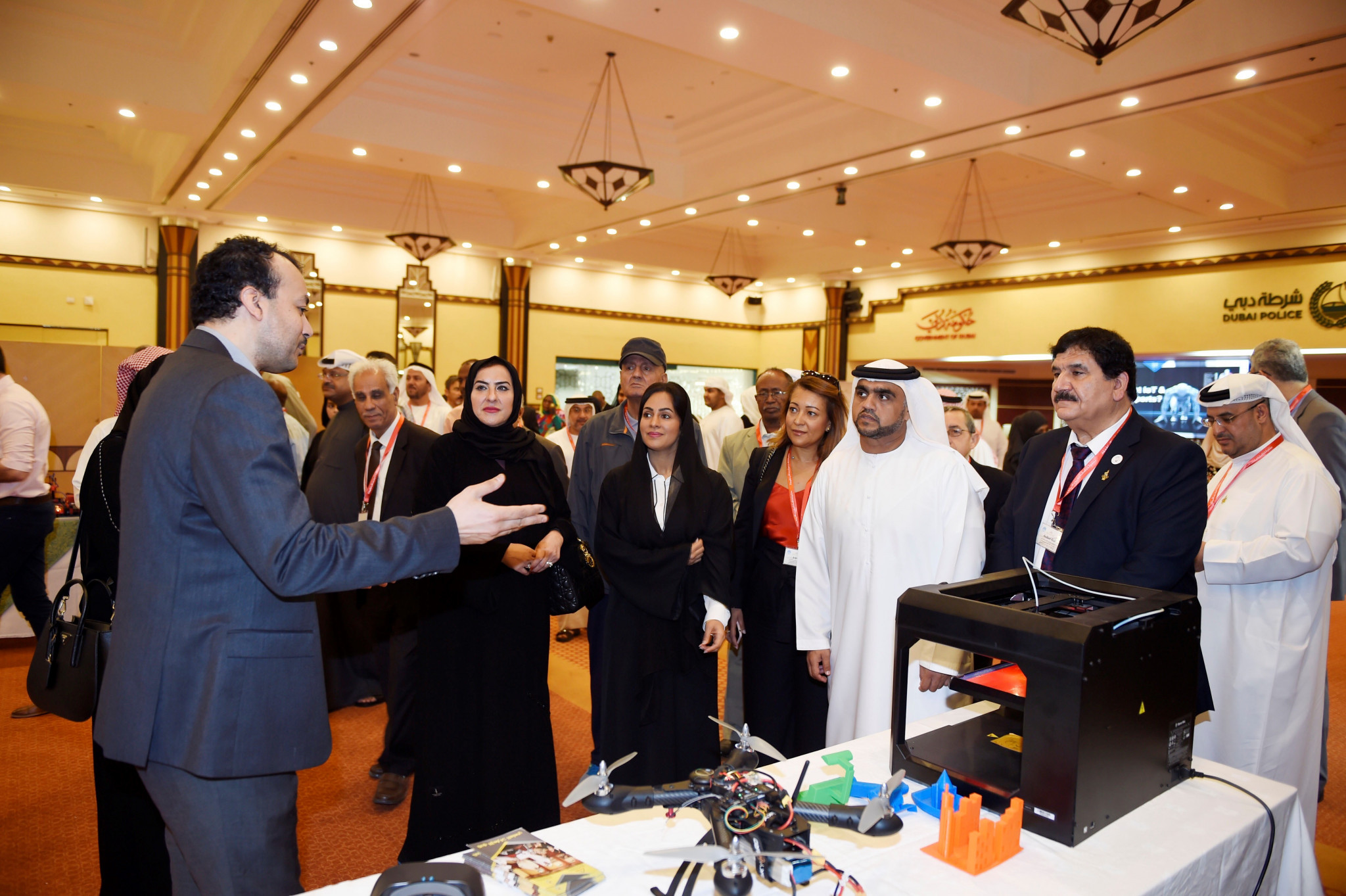 Staged at Dubai Police Officers' Club, the event aimed to give participants the required knowledge and skills for coping with the latest technologies ©UAE NOC