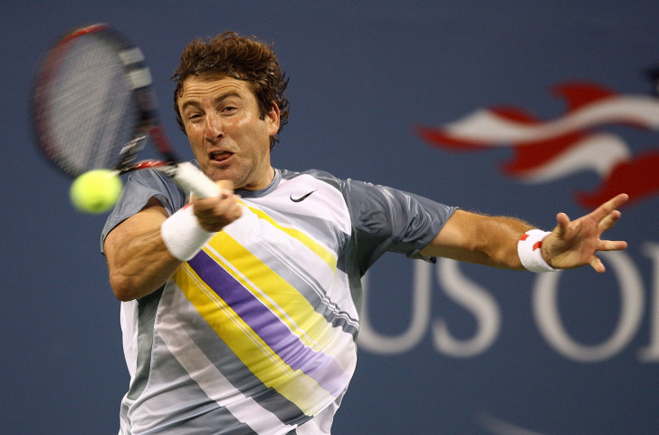 Justin Gimelstob during his playing days, in action at the 2007 US Open ©Getty Images