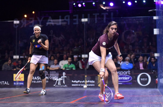 Shock defeats for El Sherbini and Elshorbagy at El Gouna International