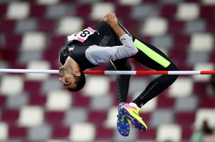 Syria's world bronze medallist Majd El Ghazhal earned victory in the men's high jump on the final day of the Asian Athletics Championships in Doha ©Getty Images