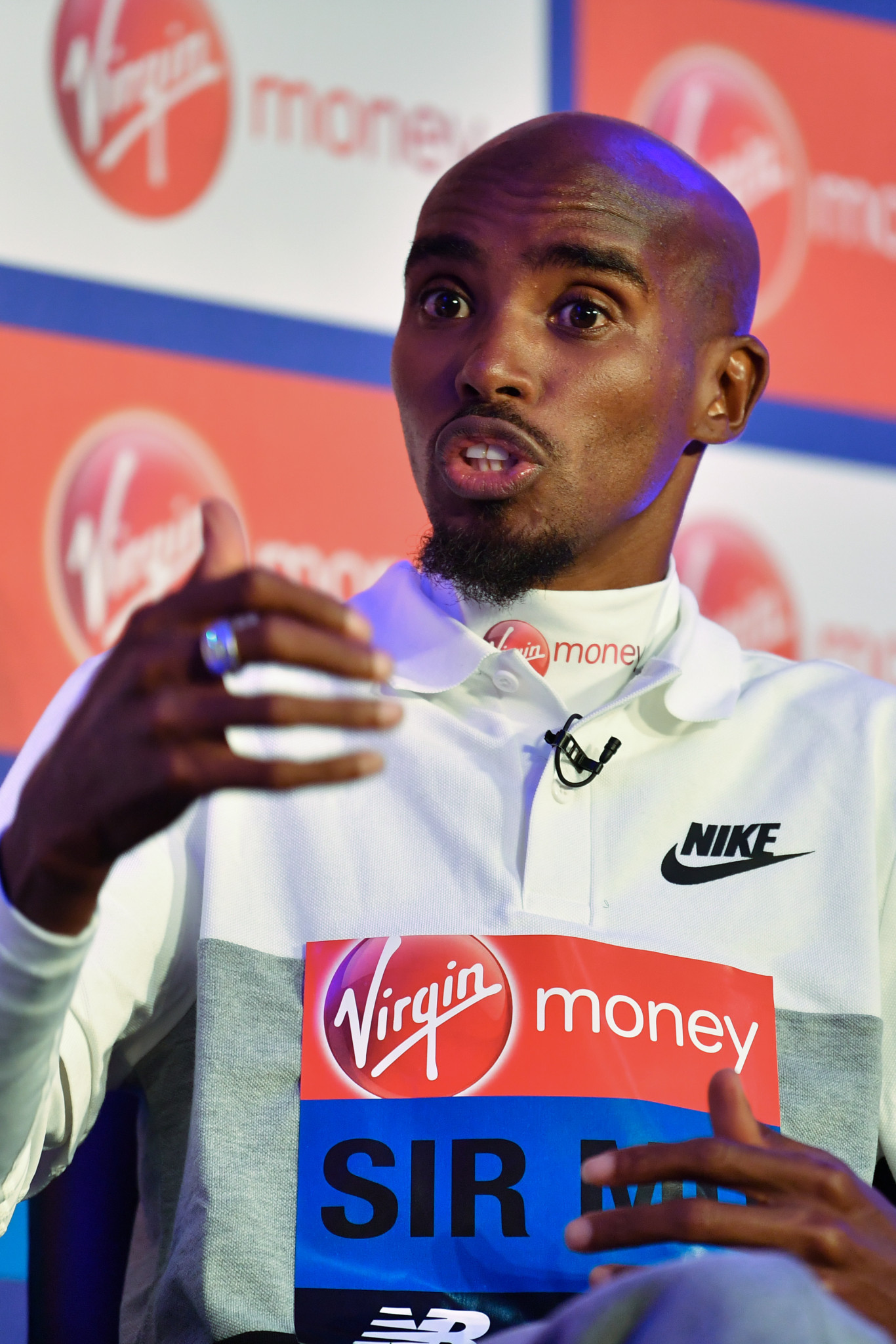 Sir Mo Farah got something surprising off his chest in his London Marathon press conference ©Getty Images