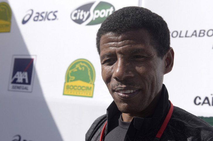 Haile Gebrselassie - Mr Nice Guy, but clearly not a man to cross ©Getty Images