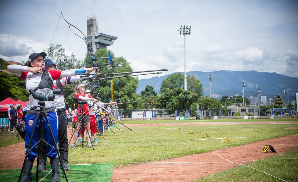 Hosts Colombia progress in mixed team recurve at Archery World Cup in Medellin
