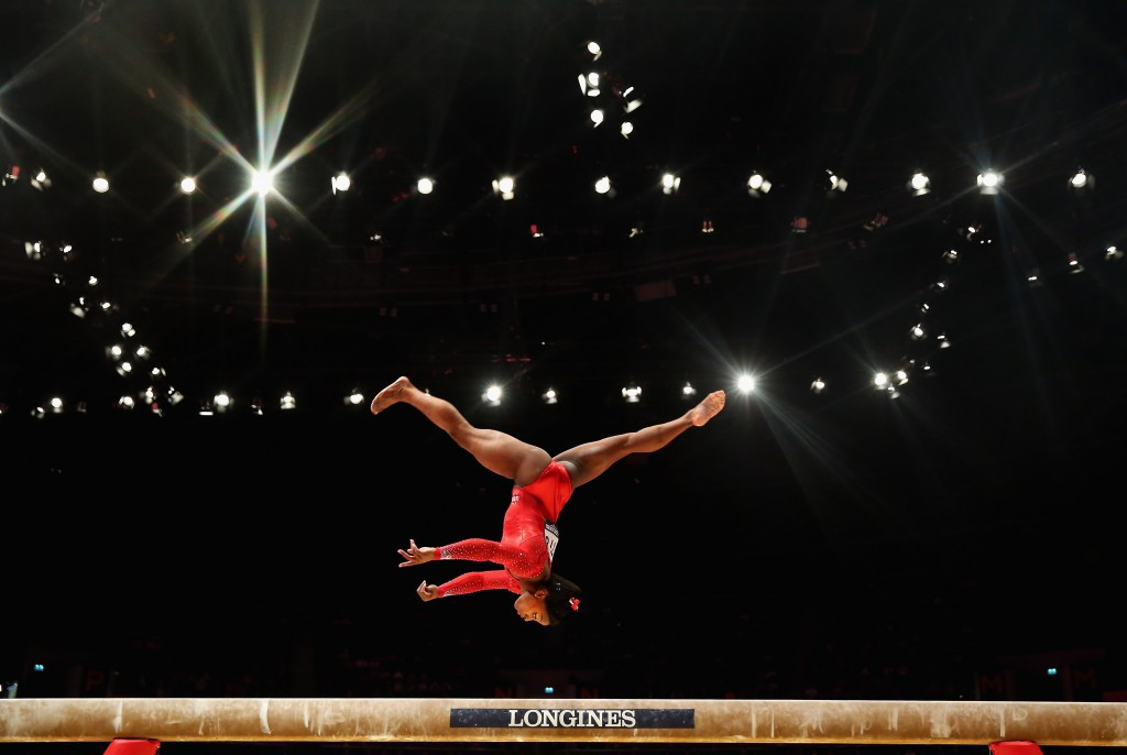 Gymnast Simone Biles was one of the athletes supported by Team Kellogg's at Rio 2016 ©Getty Images