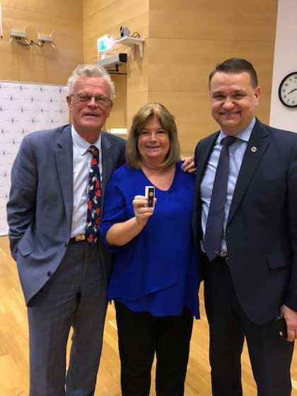 ANOC secretary general Lindberg honoured with Sweden's highest order for sports leaders