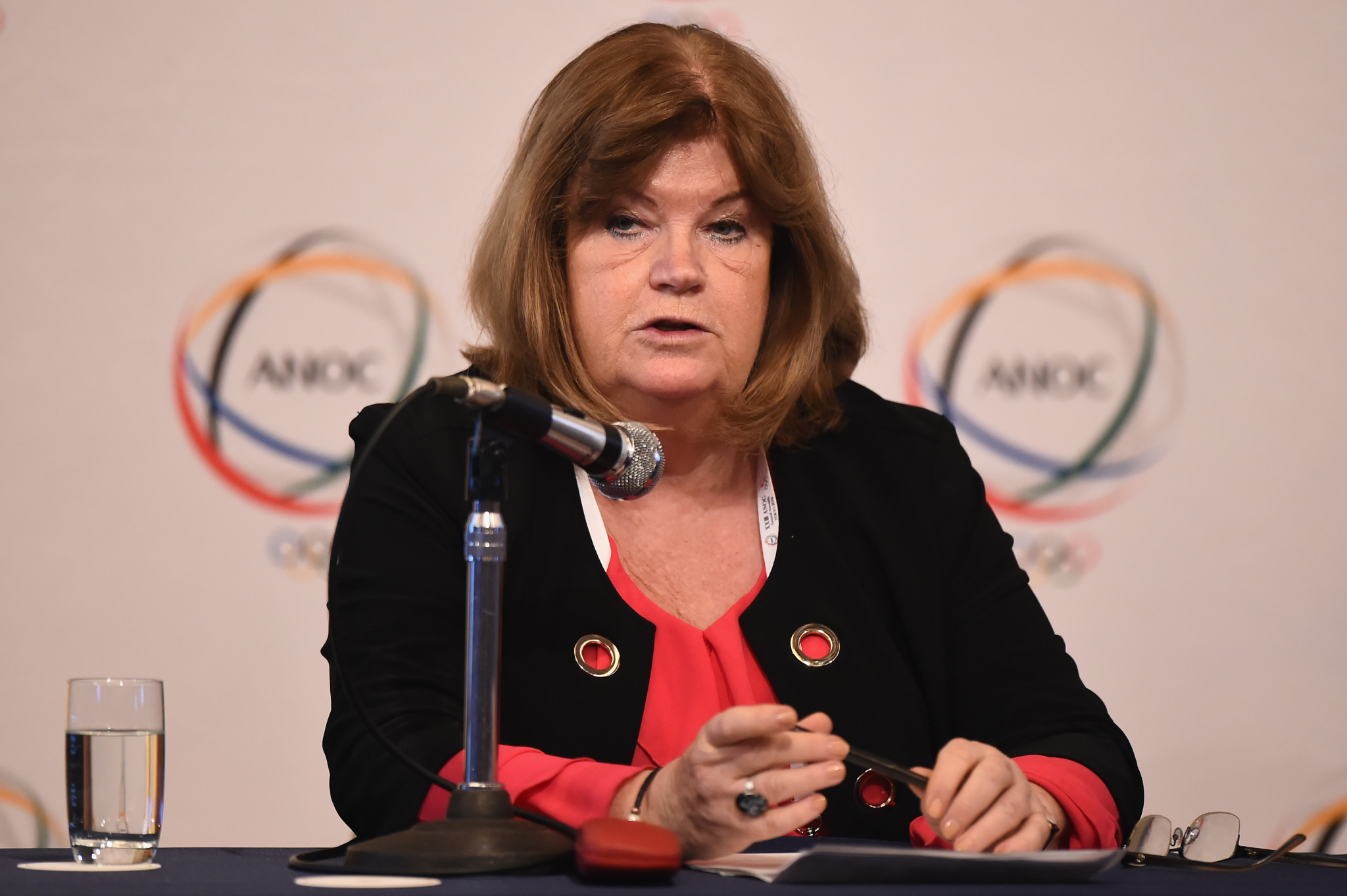 Gunilla Lindberg is the secretary general of the Association of National Olympic Committees ©Getty Images