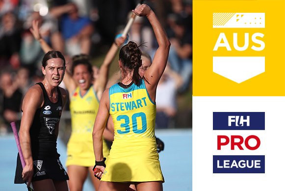 Australia's men's and women's teams claim Anzac Day triumphs over hosts New Zealand in FIH Pro League