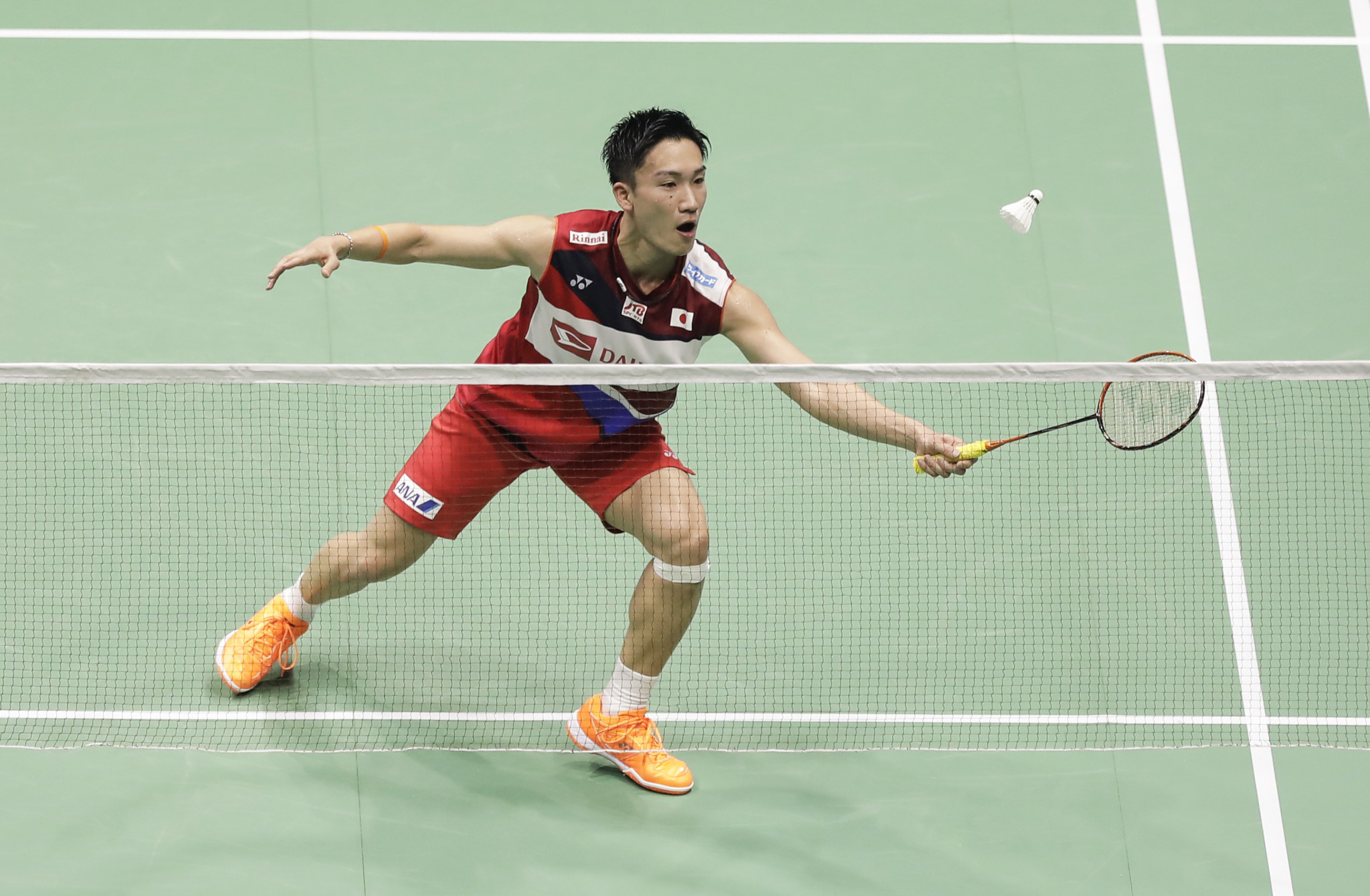 Momota remains on course to retain men's singles title at Badminton Asia Championships