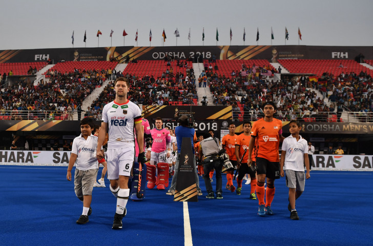 Hosts Malaysia, pictured right, will meet Brazil tomorrow as the first of the three men's FIH Series Finals begin in Kuala Lumpur ©Getty Images
