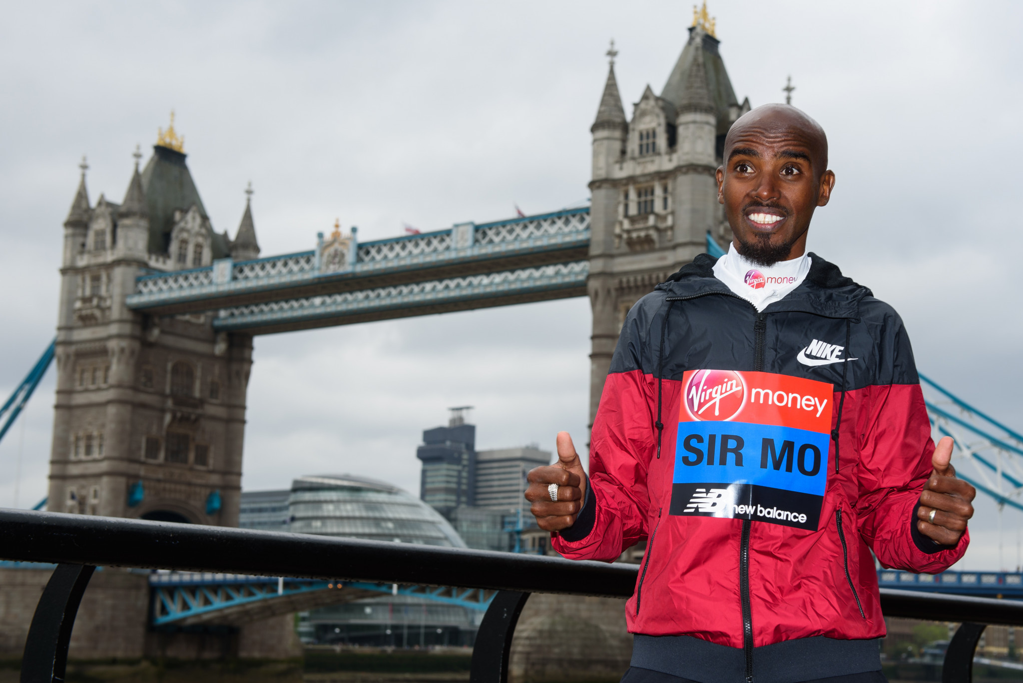 "Mo Farah has been accused of ""punching and kicking"" a married couple by Haile Gebrselassie ©Getty Images"