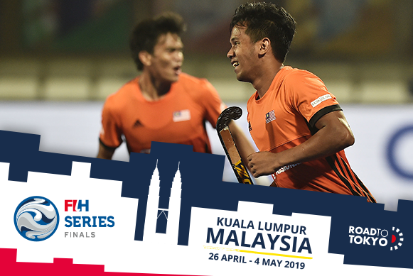 Malaysia hosts the first of the three men's FIH Series Finals ©Getty Images