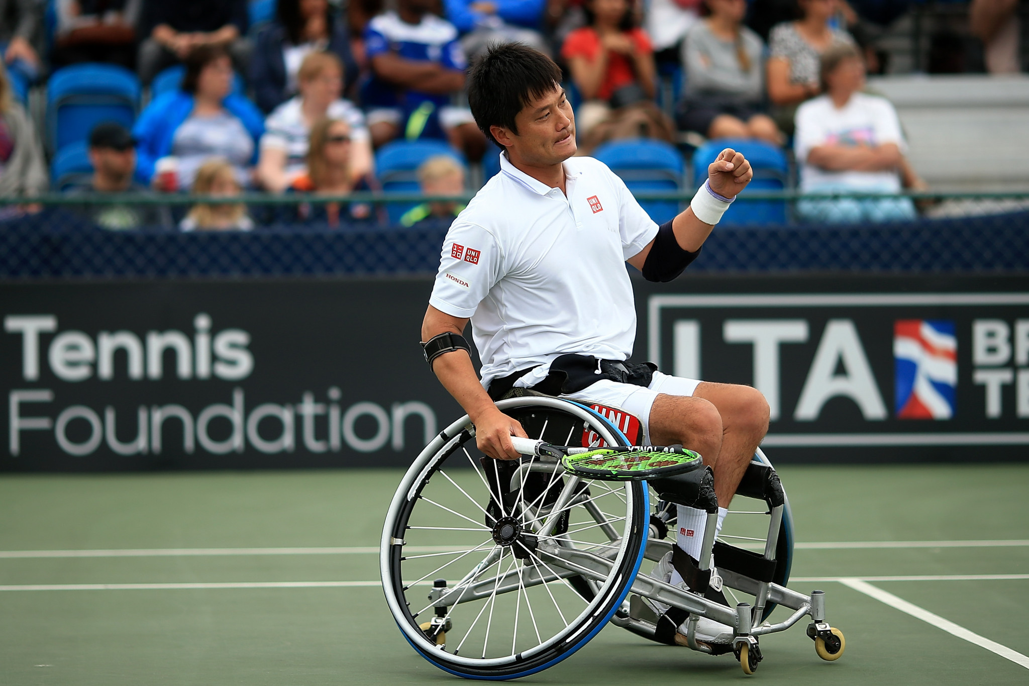 Shingo Kunieda defeated Britain's Gordon Reid to win the ITF Japan Open quarter-final ©Getty Images