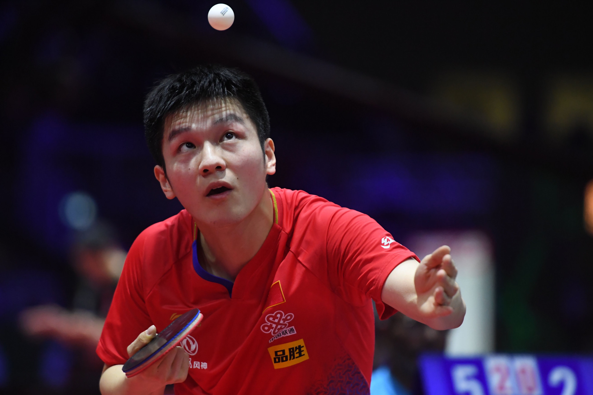 World number one Fan Zhendong suffered defeat in the last 16 of the men's singles ©Getty Images