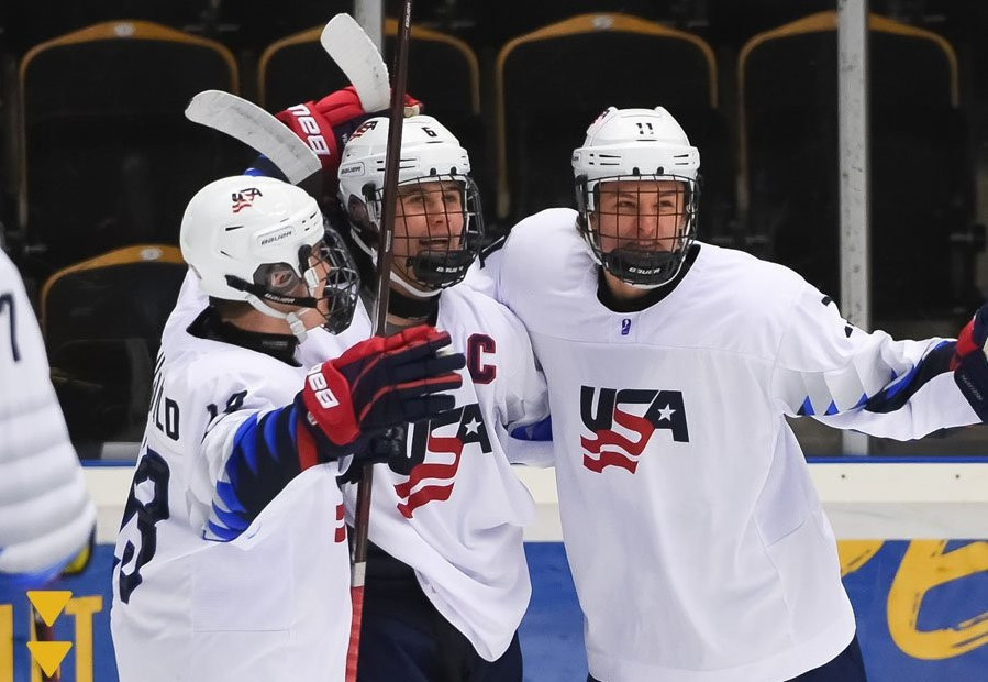 United States crush defending champions Finland in IIHF Under-18 World Championship quarter-final