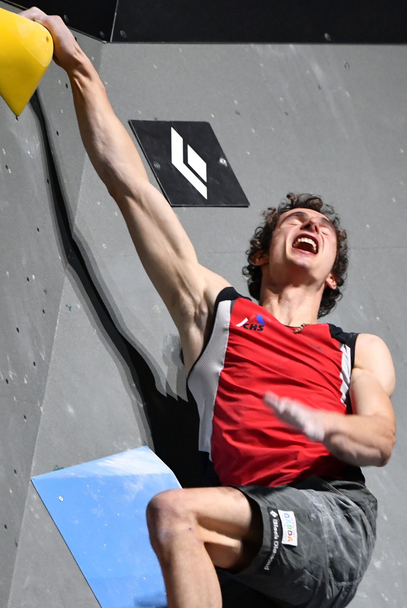 Adam Ondra, the Czech Republic's four-times world champion, faces tough opposition in the bouldering competition at the IFSC World Cup that starts in Chongqing, China tomorrow ©Getty Images