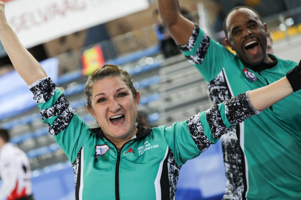Nigeria achieved their first international victory at the World Mixed Doubles Curling Championship ©World Curling