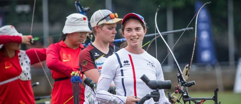 Gaubil reaches first career medal match at Archery World Cup in Medellin