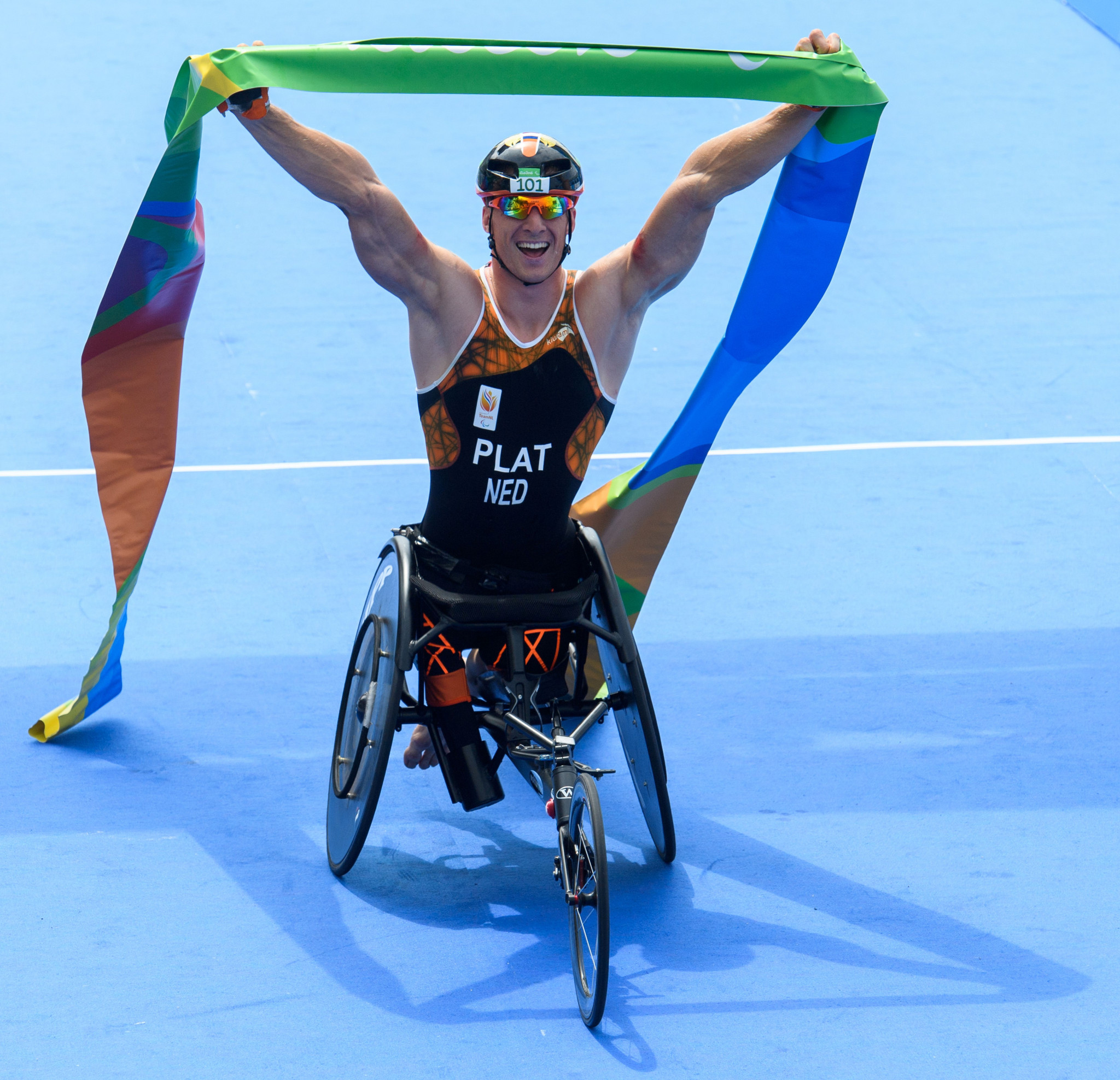 Plat among favourites to triumph at season-opening ITU World Paratriathlon Series event in Milan