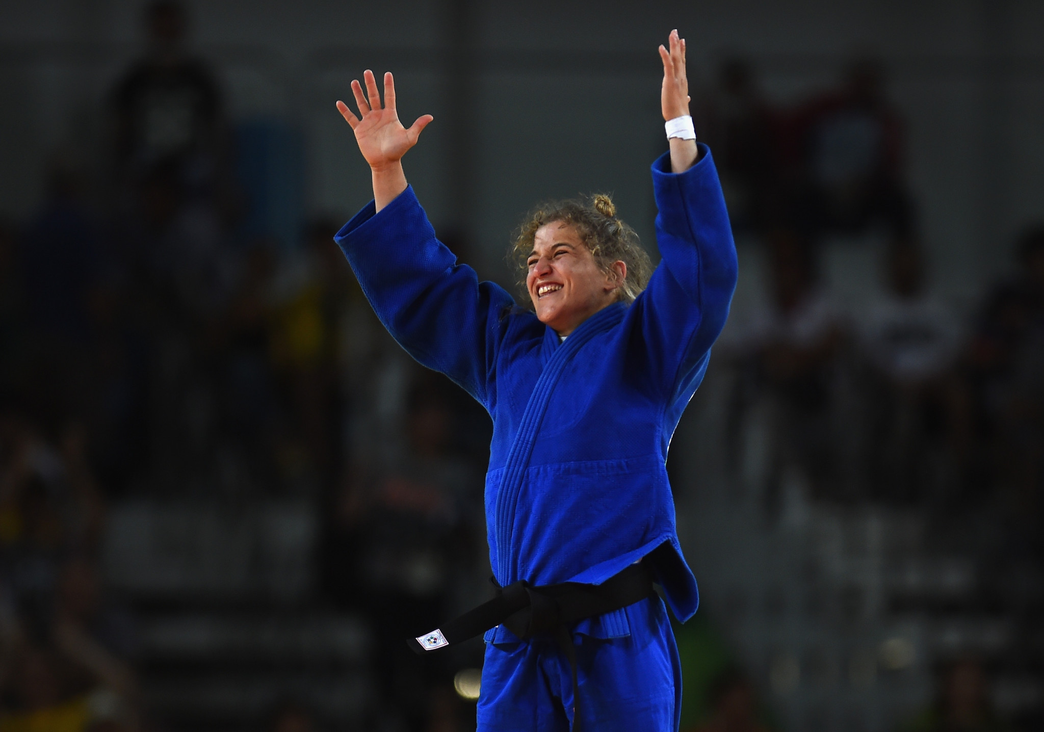 Argentina's Paula Pareto came out on top in the women's under-48kg category ©Getty Images