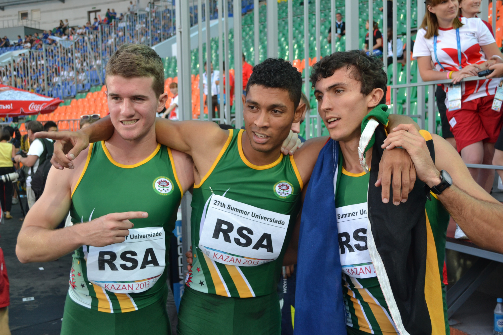 South Africa's van Niekerk claims Summer Universiade was platform for international success