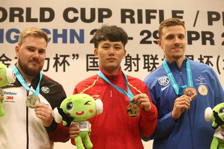 China claim two gold medals at ISSF Rifle and Pistol World Cup