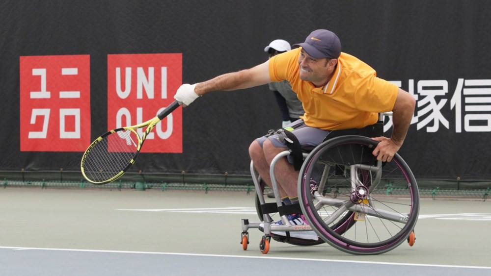 Defending quad singles champion David Wagner will play Australia's Dylan Alcott in the final ©Japan Open 2019