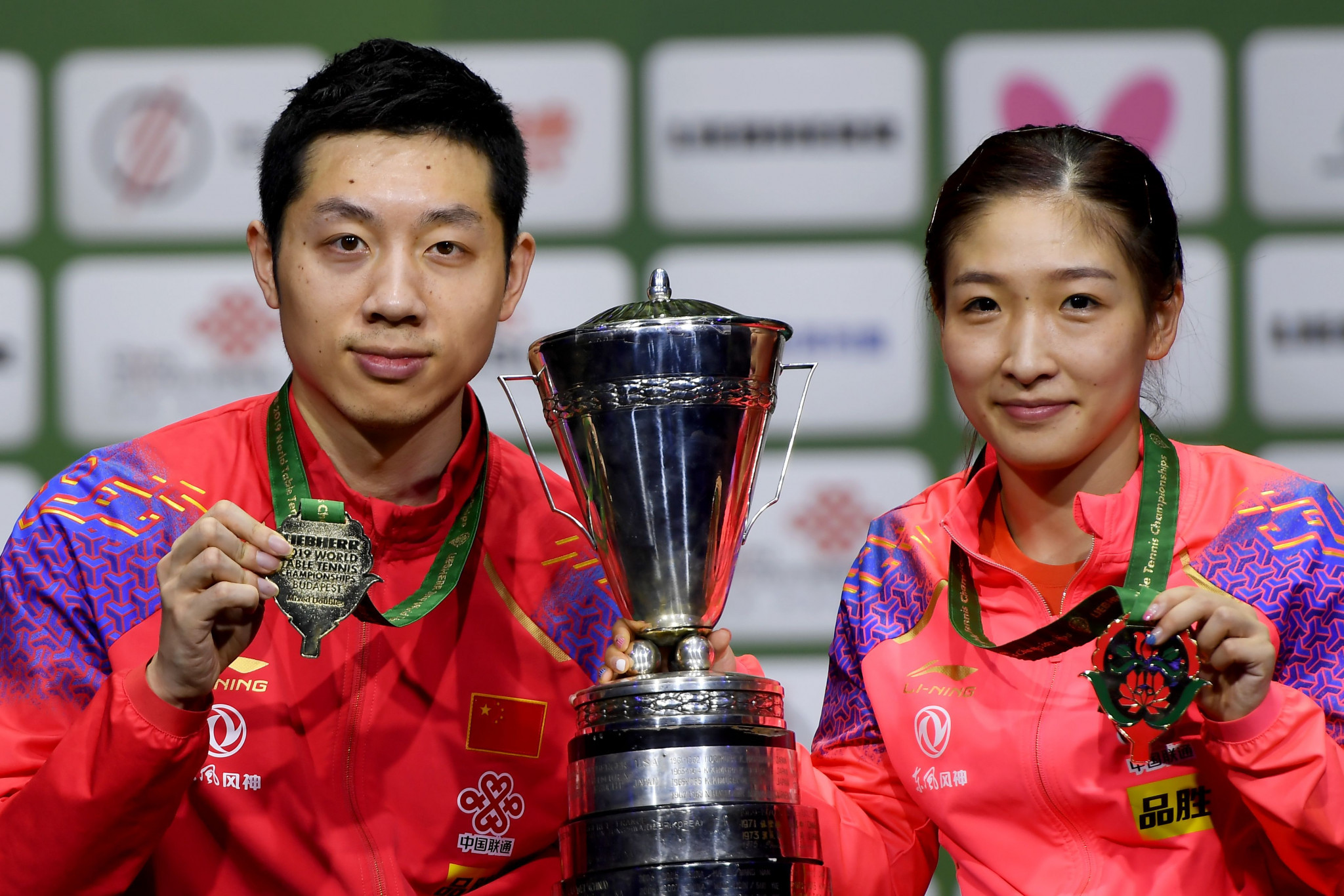 Xu and Liu crowned mixed doubles champions at ITTF World Championships