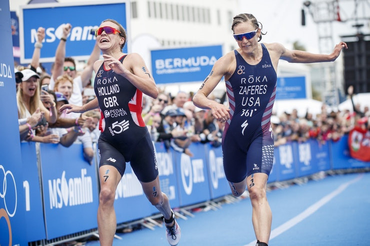 Zaferes and Holland to re-ignite rivalry at ITU World Triathlon Series in Bermuda