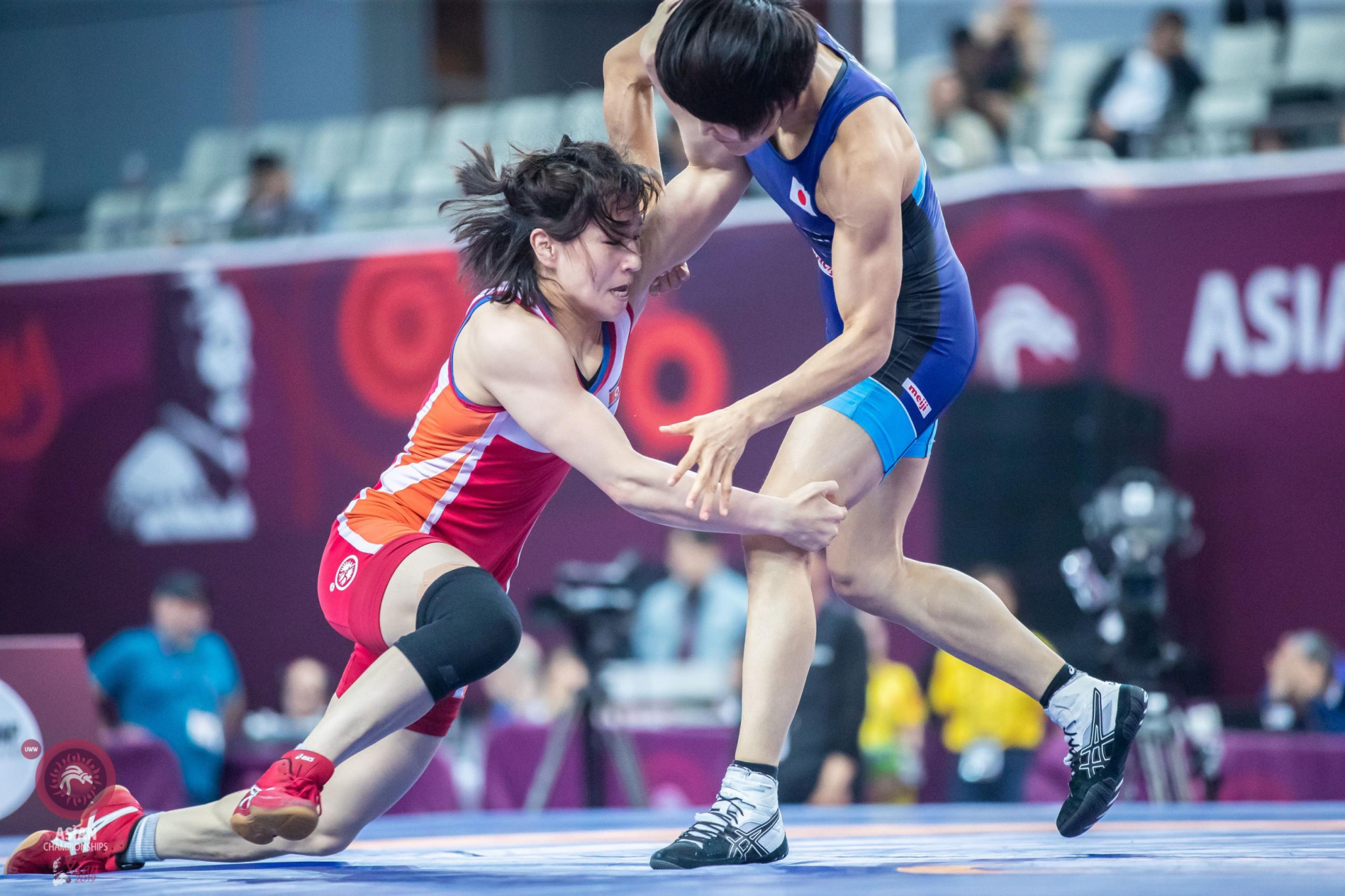Pak retains women's 53kg title at Asian Wrestling Championships