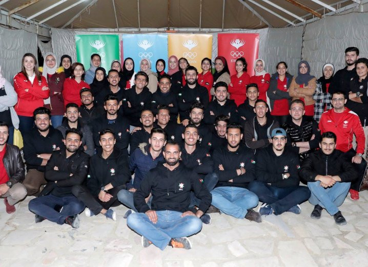 Olympic values workshop held by Jordan Olympic Committee as part of nationwide project