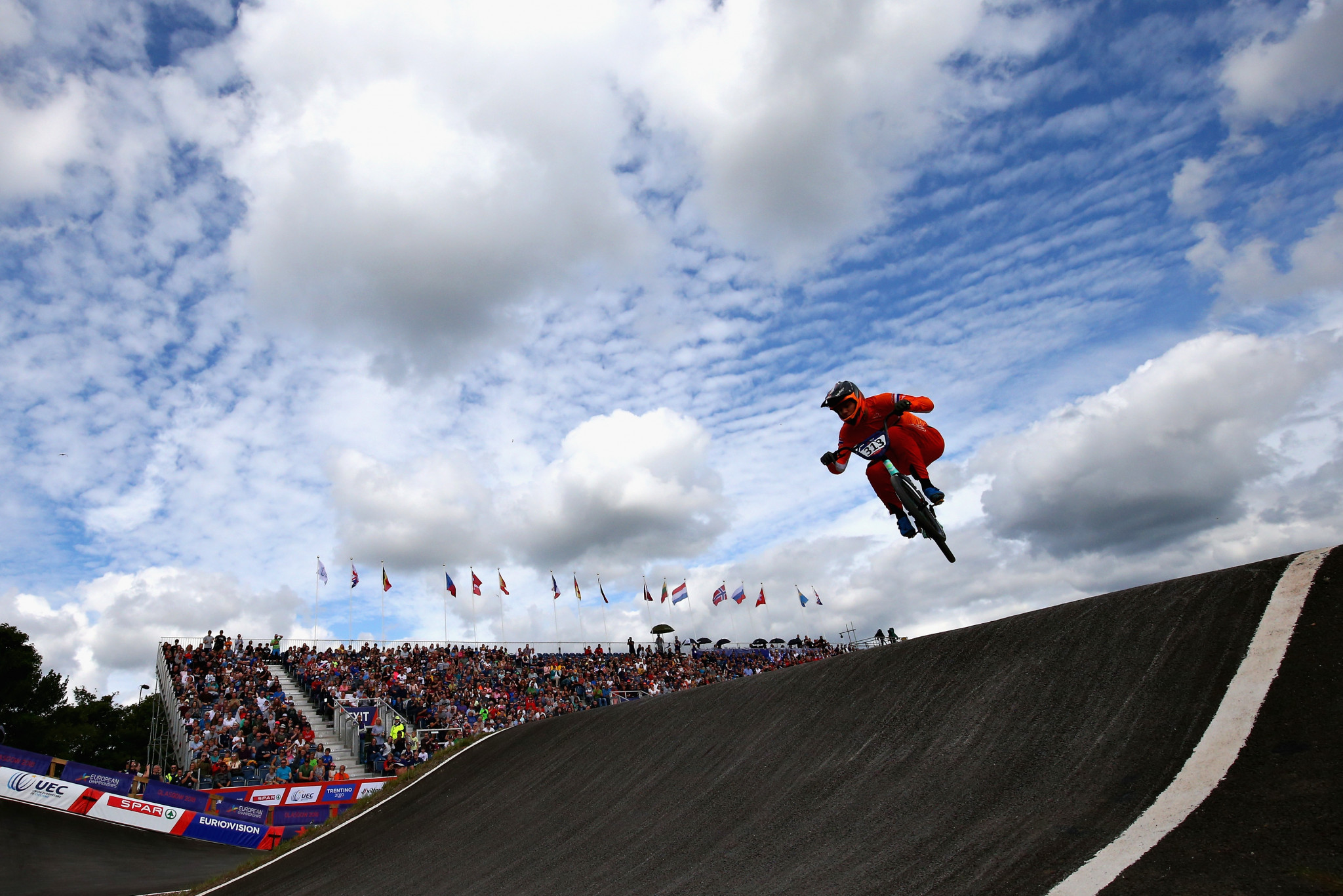 The Netherlands' Niek Kimmann is among the names to look out for in the men's competition at the UCI BMX Supercross World Cup in Manchester this weekend ©Getty Images