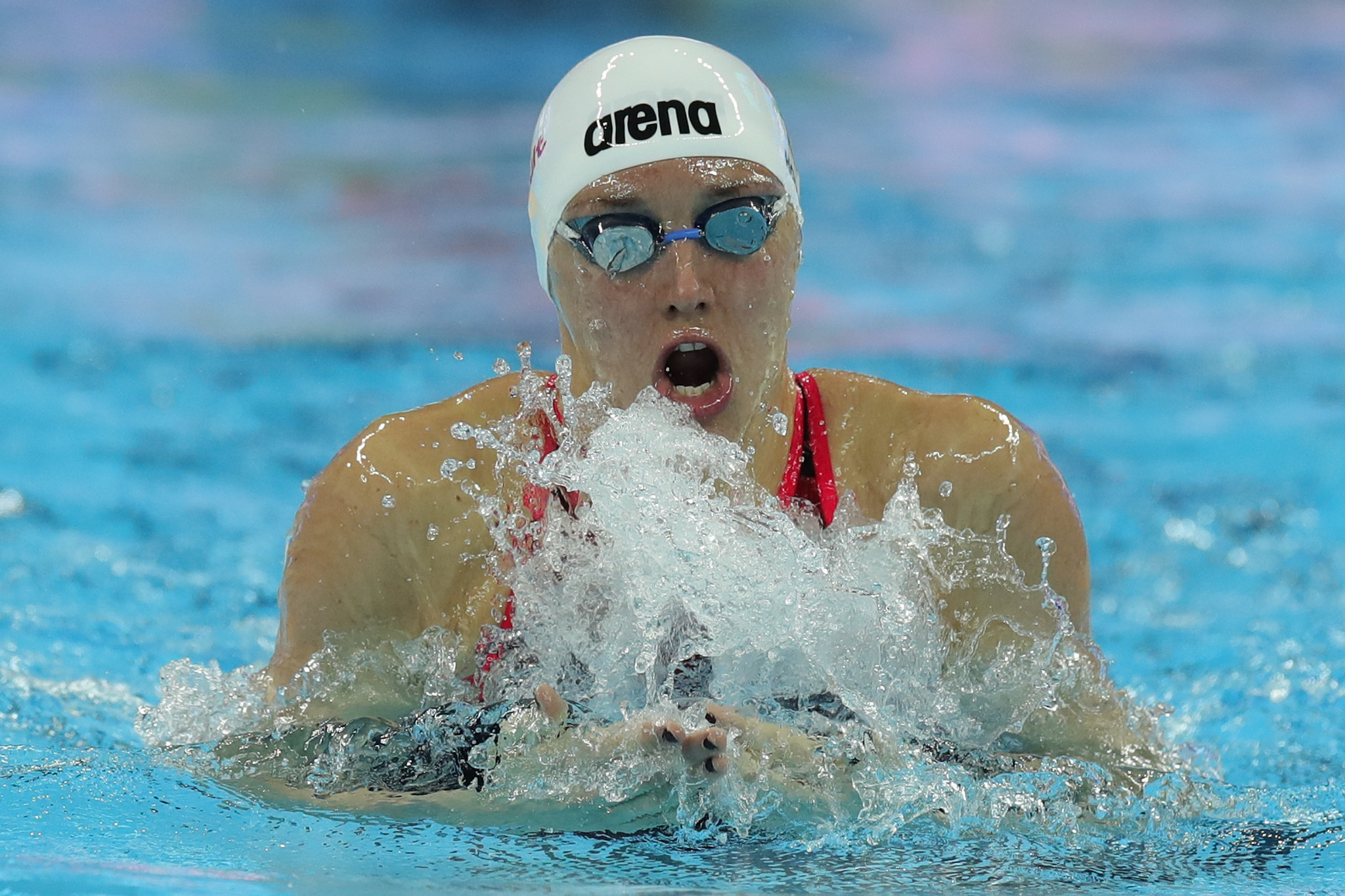 Hungary's Katinka Hosszu is competing in the inaugural FINA Champions Swim Series event ©Getty Images