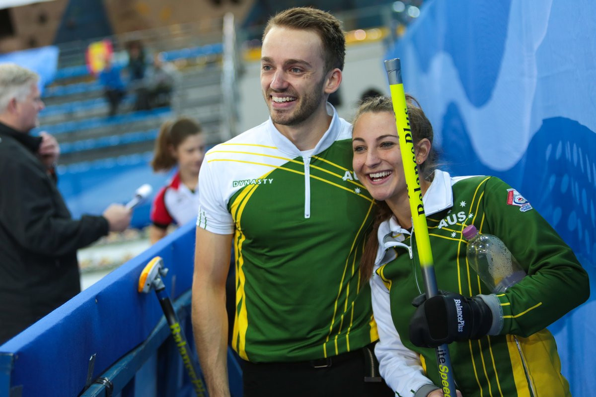 Australia reach World Mixed Doubles Curling Championship semi-final for first time