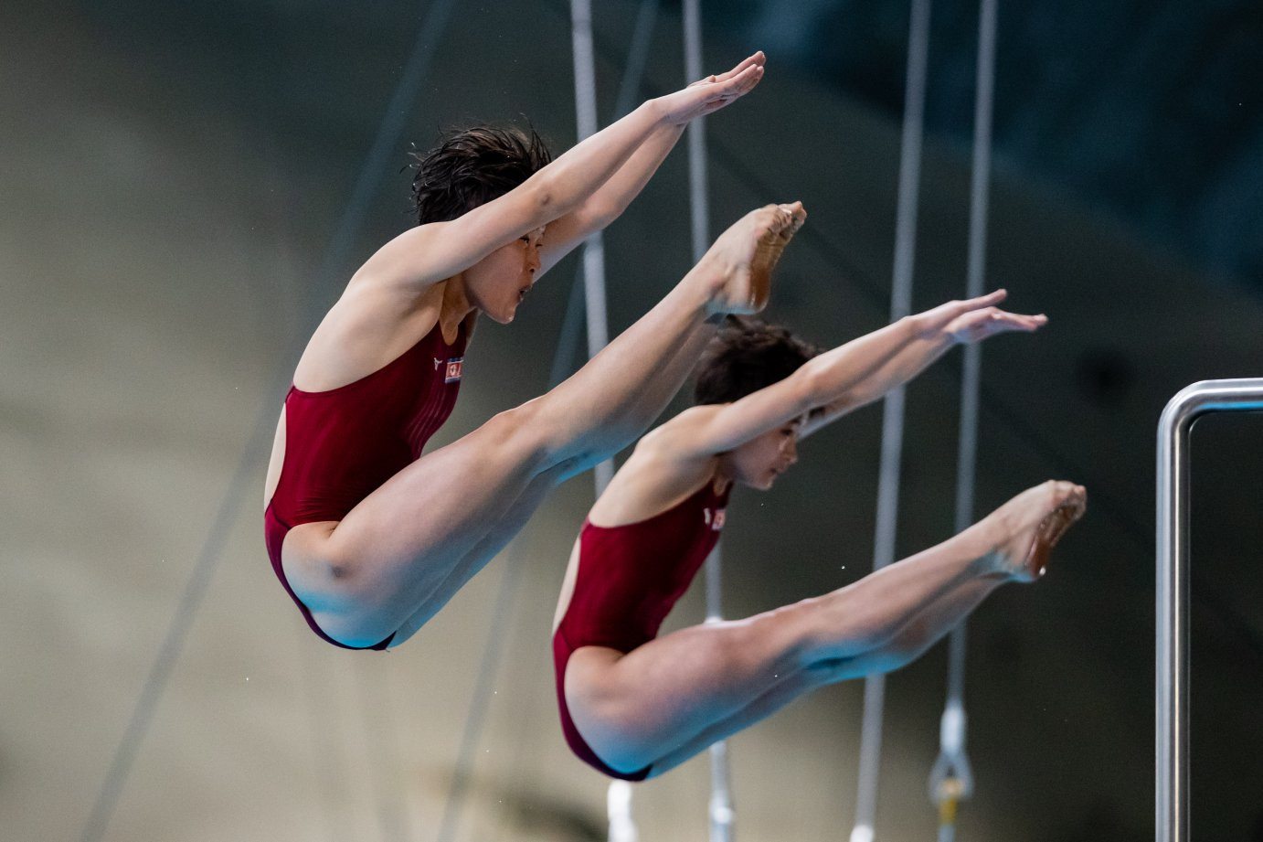North Korean pair claim first FINA Diving World Series gold in Montreal