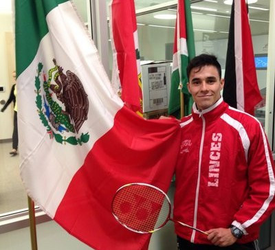 Mexico's Job Castillo reached the semi-finals of the Pan American Individual Badminton Championships ©Twitter