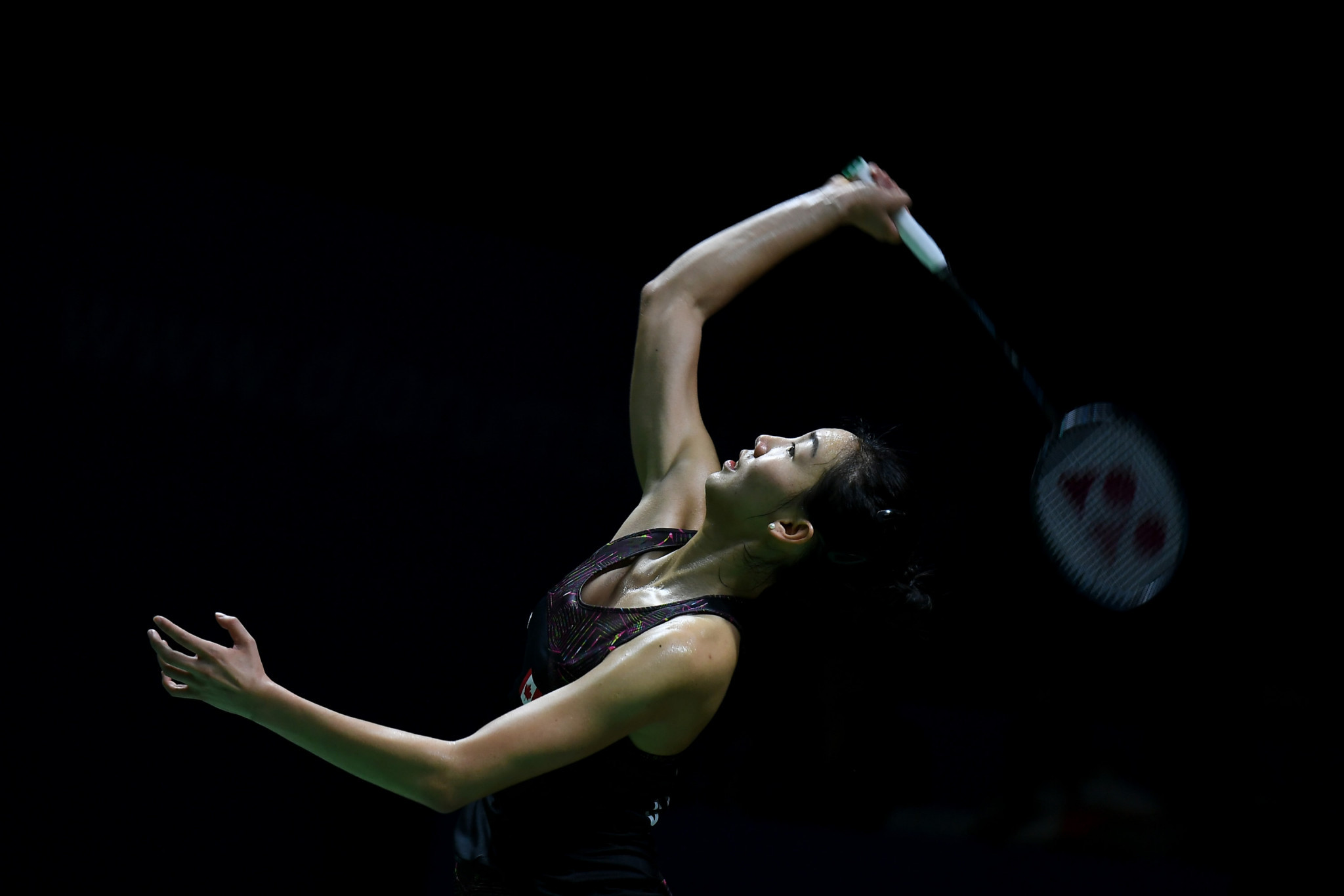 Canada's Michelle Li progressed to the semi-final of the Pan American Individual Badminton Championships ©Getty Images