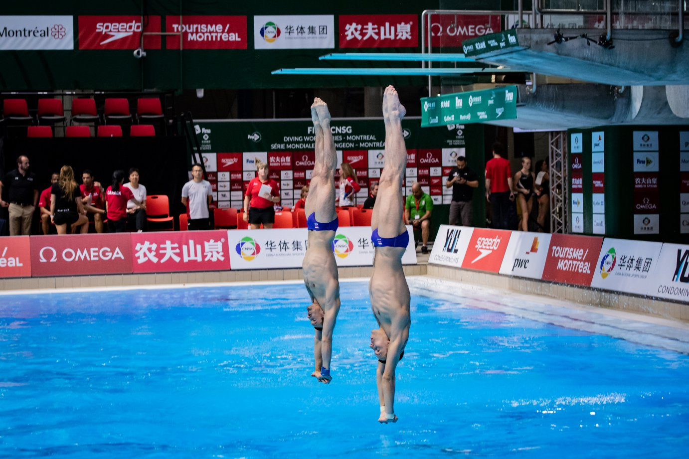 China finished the opening day with two gold medals ©FINA