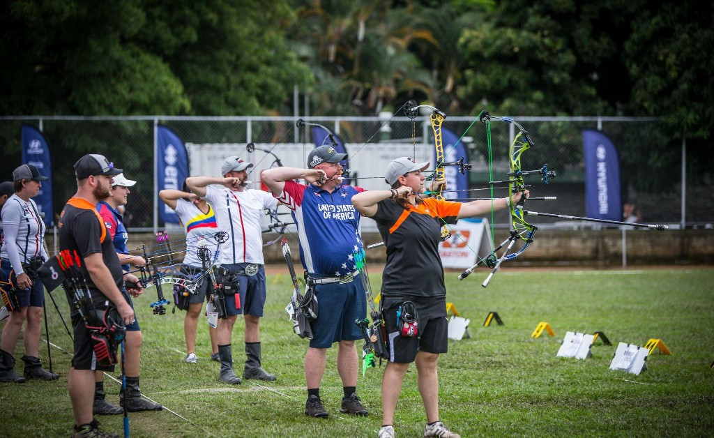 United States reach mixed team finals at Archery World Cup in Medellin