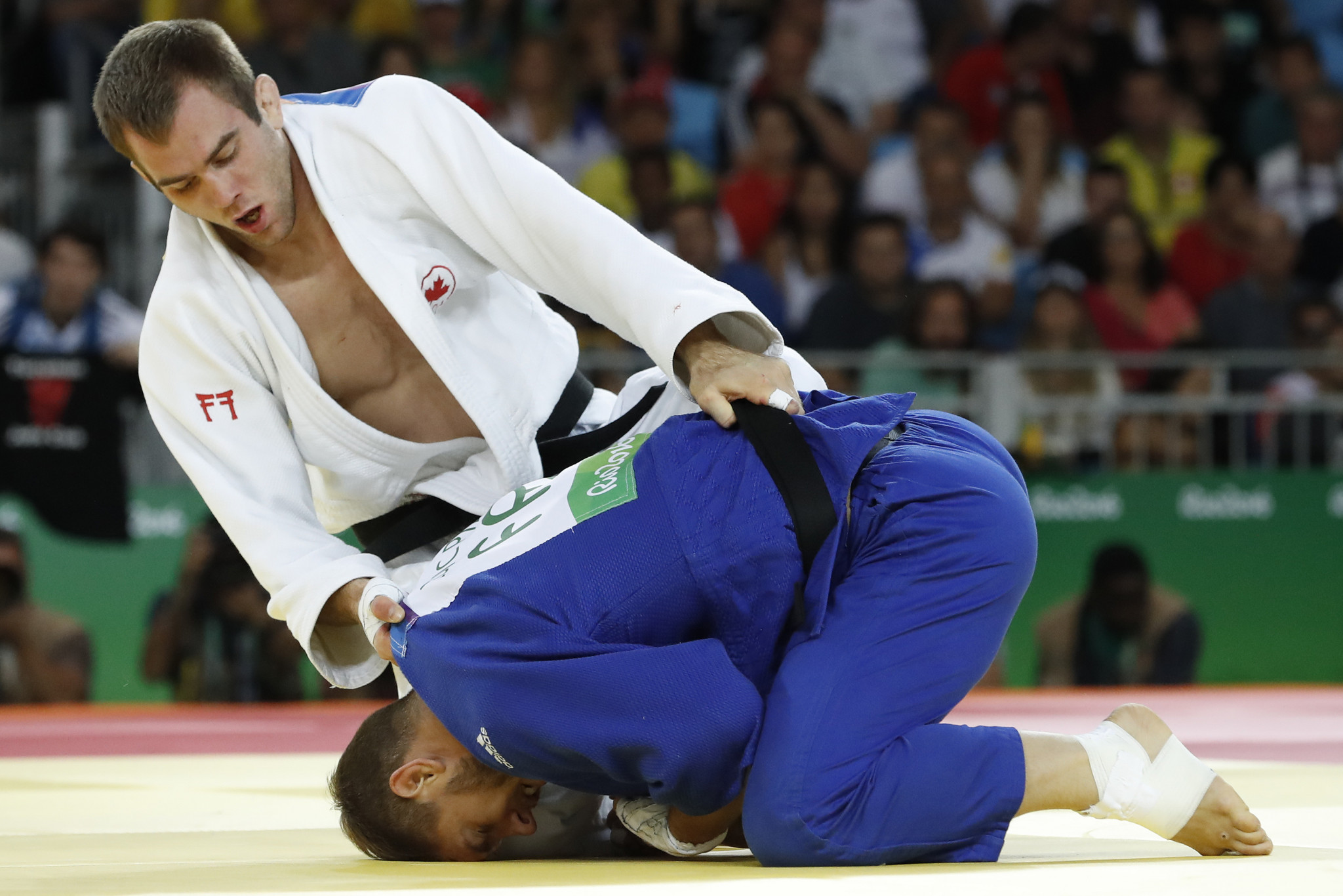 Canada clinch double gold on second day of Pan American Judo Championships in Lima
