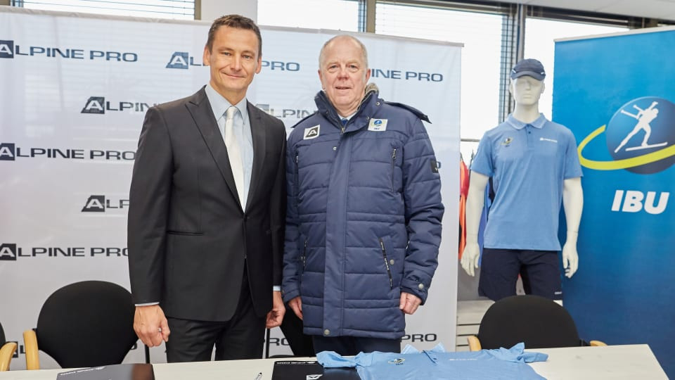 International Biathlon Union sign kit deal with ALPINE PRO