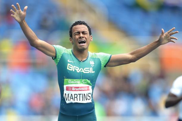 Paralympic champion Daniel Martins won the men's 400 metres T20 at the World Para Athletics Grand Prix in São Paulo ©International Paralympic Committee