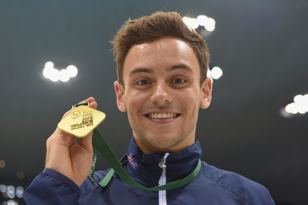 Tom Daley claimed Diving World Series gold at the venue where he won Olympic bronze in 2012 ©Getty Images