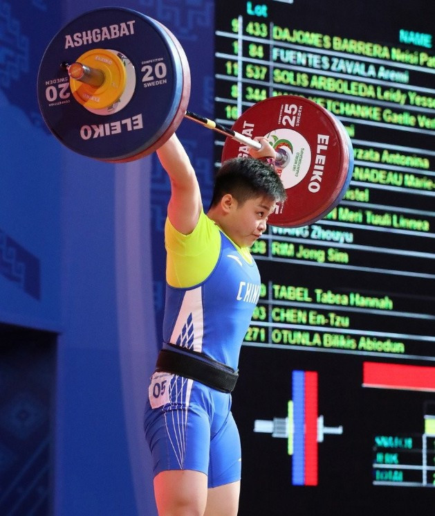 Wang sweeps 87kg gold medals on successful day for China at Asian Weightlifting Championships
