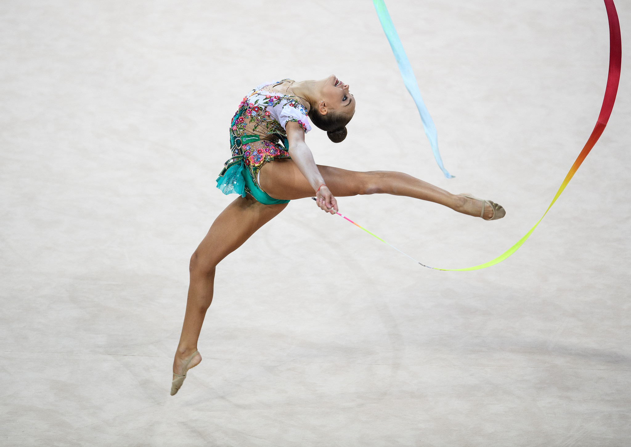 Arina Averina finished runner-up behind her sister ©Getty Images
