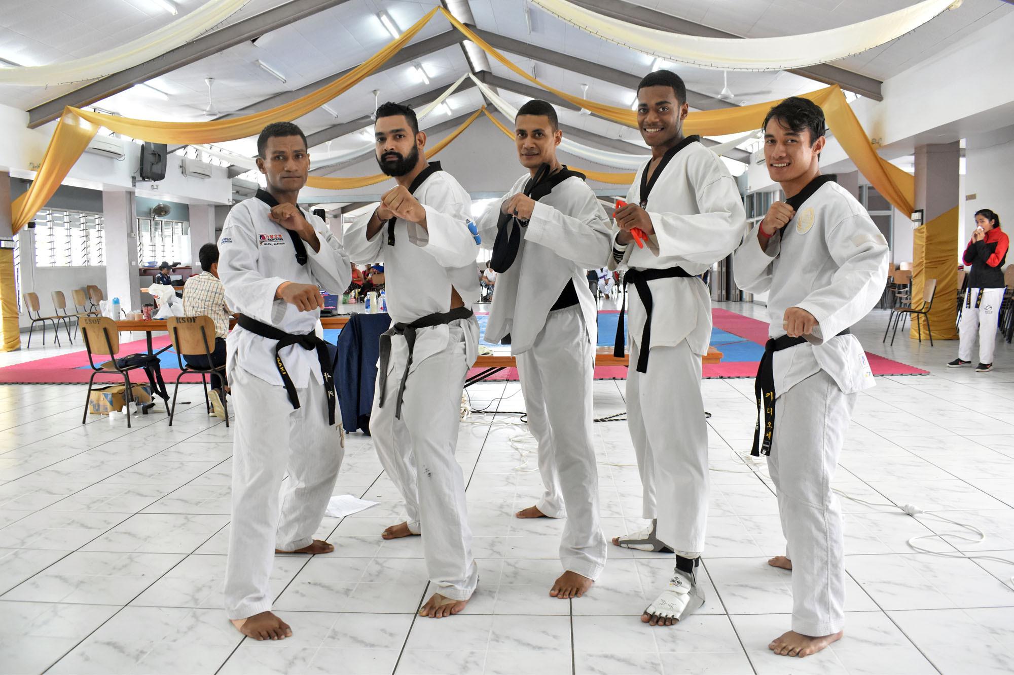 Fiji select taekwondo team for 2019 Pacific Games in Samoa