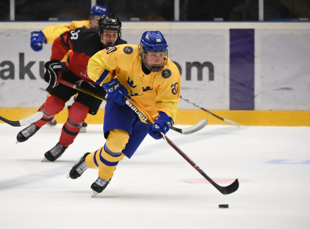 Sweden edge past Canada to reach IIHF Under-18 World Championship final