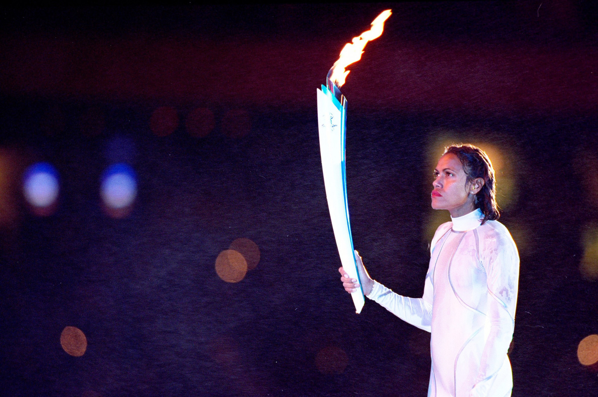 Australian 400 metres runner Cathy Freeman responded to a request from John Coates to light the flame at the Opening Ceremony of the 2000 Olympics in Sydney ©Getty Images