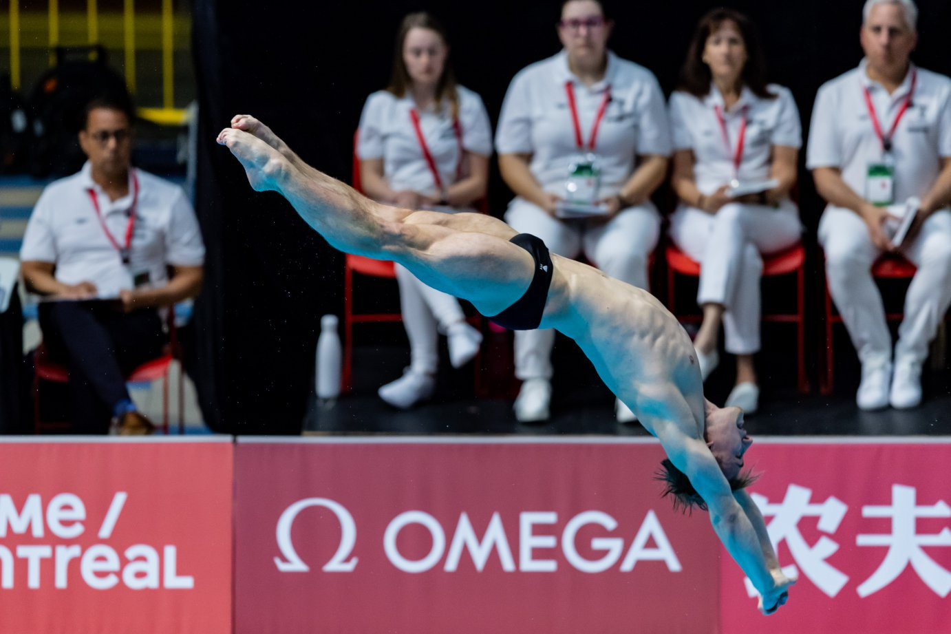 China swept all three titles on offer on the second day of the event in the Canadian city ©FINA